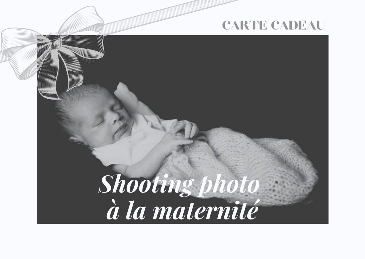 Shooting photo en maternité